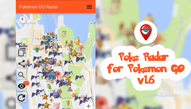 Poke Radar for Pokemon GO Versi 1.6 Apk Terbaru