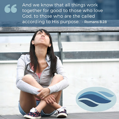 And we know all things work together for good to those who love God, to those called according to His purpose.