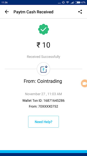Coin Trading App Payment Proof: