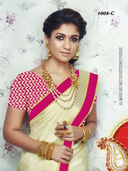 nayanthara Kerala saree