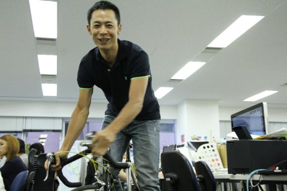 Azuma Tani bicicleta