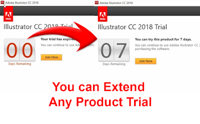 How to Extend Adobe Trial Period