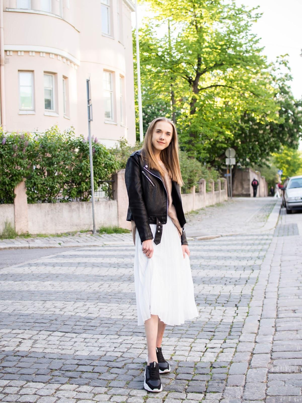 Scandinavian summer street style, Helsinki, Finland - Muotibloggaaja, kesämuoti, Helsinki