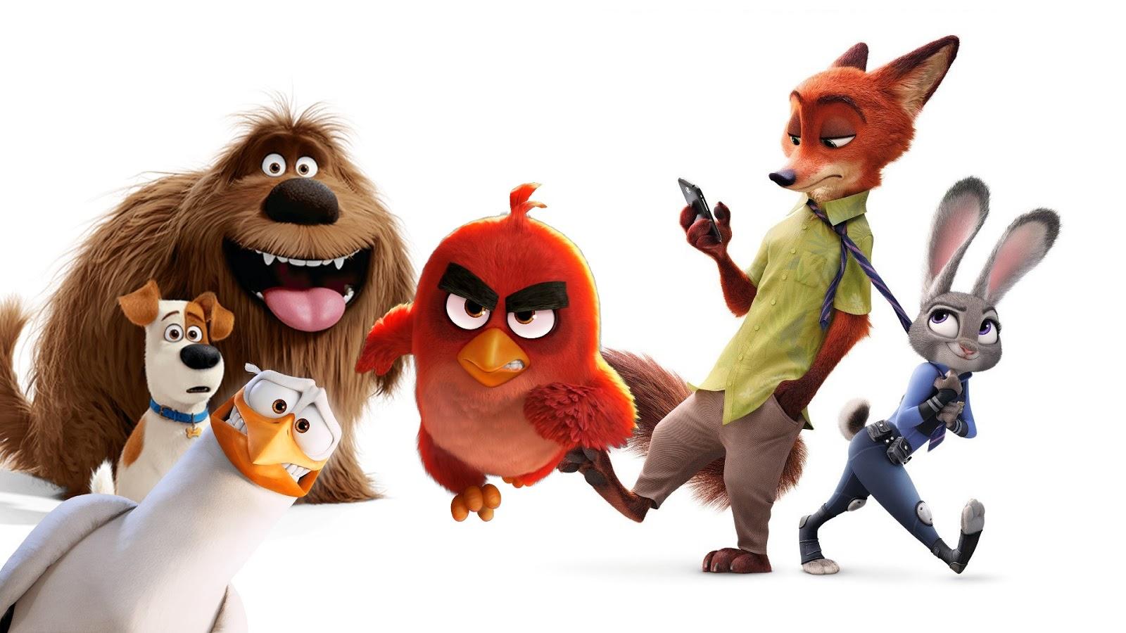 27 Filmes de Animação são apresentados para a corrida ao Oscar 2017