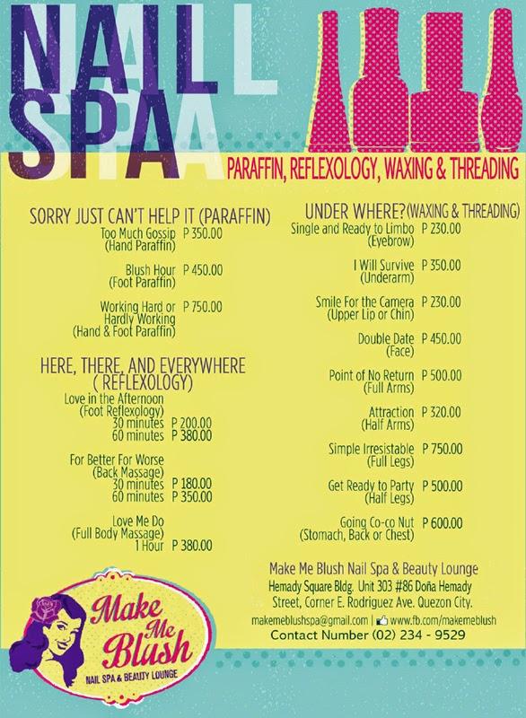 Make Me Blush Nail Spa Beauty Lounge Rochelle Rivera