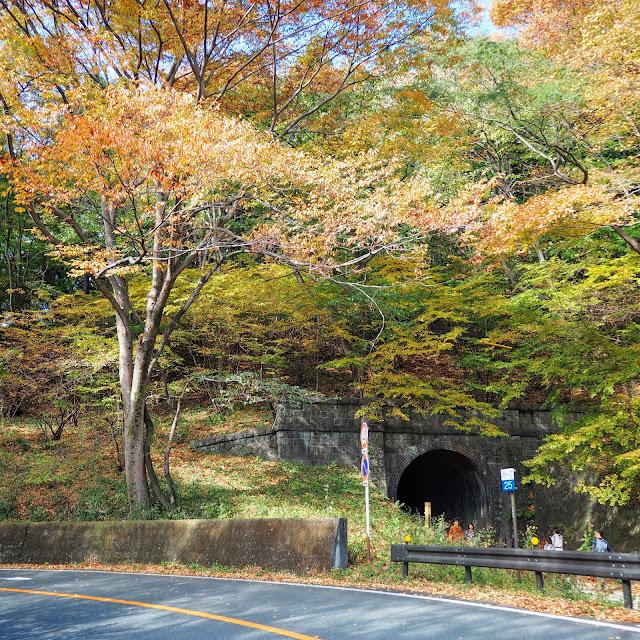 旧信越本線のトンネル