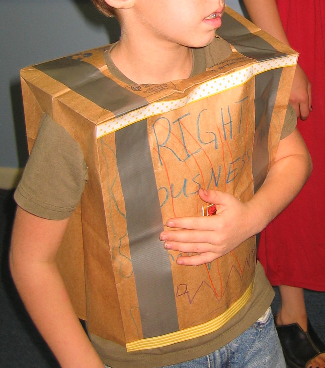 Eagle Nest Mom Craft Make A Breastplate Of Righteousness