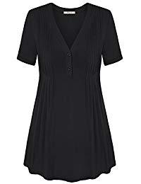 Buy Women's V Neck Long Sleeve Tunic Tops From Amazon