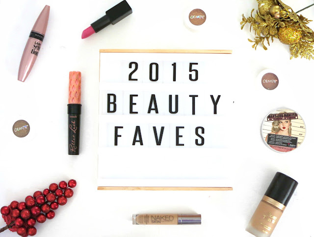 My Beauty Favourites of 2015