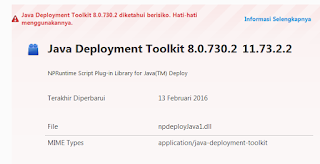 Java Deployment Toolkit 2016