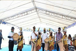 Festival Geopark Raja Ampat 2018 di Pantai Waisai Torang Cinta