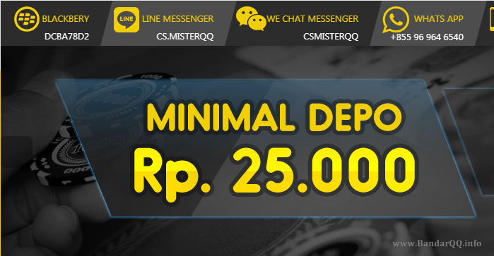 Bermain Dengan Deposit Murah di MisterQQ.com