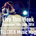 Live This Week: September 18th-24th, 2016