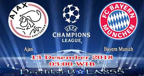 Prediksi Bola855 Ajax vs Bayern Munich 13 Desember 2018