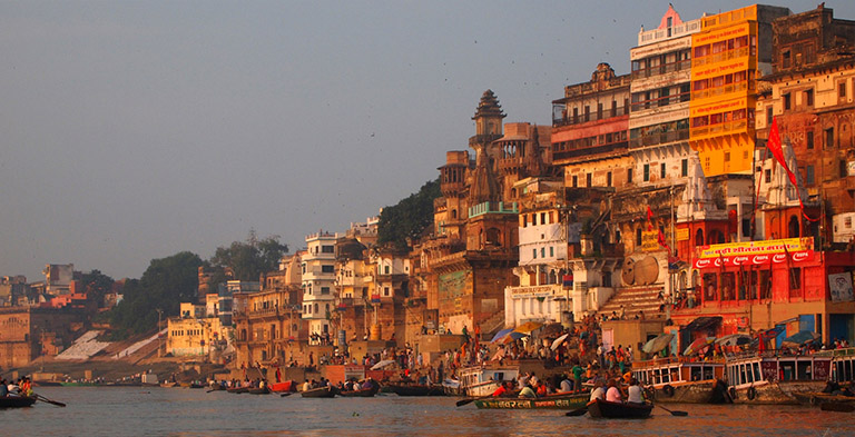 Holy Varanasi city attraction