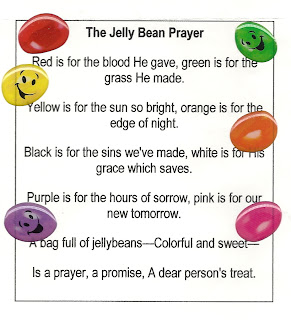 April Traditions: Birds' Nests and Jelly Bean Poem