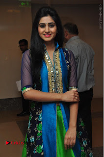 Actress Model Shamili Sounderajan Pos in Desginer Long Dress at Khwaaish Designer Exhibition Curtain Raiser  0031.JPG