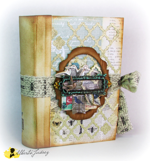 Libro-caja Vintage Odyssey