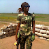 Checkout This Nigerian Female Soldier That Has Got Online Users Talking. Photo