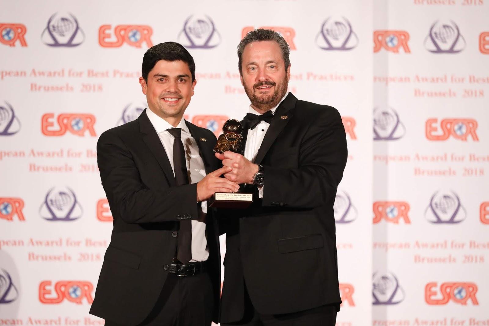 """Cooperativa Andalucía recibió el reconocimiento """"Best Quality Leadership Award"""""""