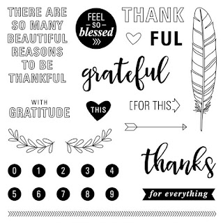 CTMH Feel So Blessed Stamp Set