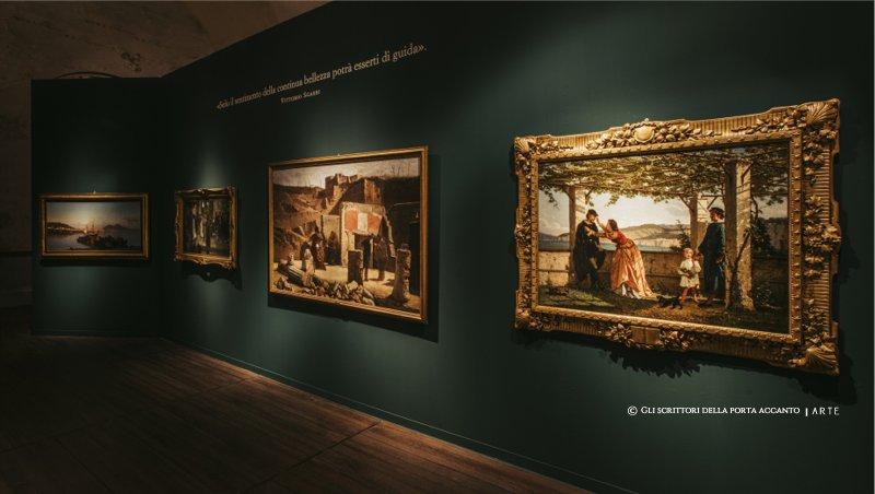 De Chirico, Giotto, in mostra a Catania, Vittorio Sgarbi - Arte, mostre, Gli scrittori della porta accanto
