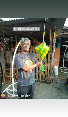 Kampoeng Lampion sebagai vendor lampion Ramadhan Fair di Singkawang 2018