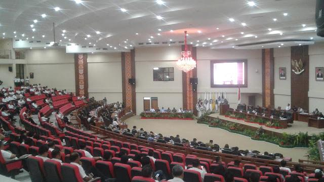 DPR Sulut Gelar Rapat Paripurna Tutup Masa Sidang ke lll Tahun 2018 dan Buka Sidang I Tahun 2019 Serta Laporan AKD Serta Reses lll