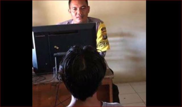 Tertangkap Setelah Dilaporkan Telah Mencabuli Anak Dibawah Umur, Pria Ini Mengaku Nyesal