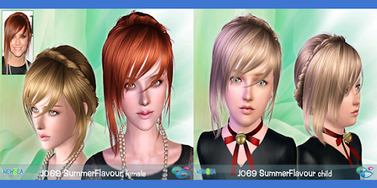 Free Summer Flavour Hair by Newsea (Requested)         ~          UTS3