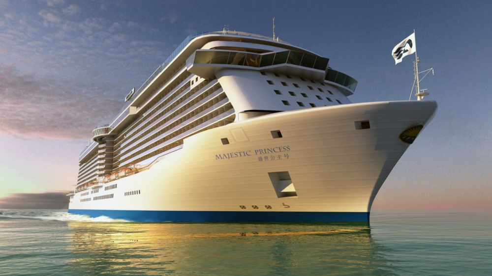 Majestic Princess 2017 Inaugural European Sailings Announced