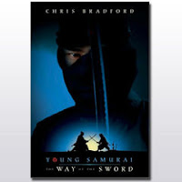book cover of Way of the Sword bk 2 Young Samurai series by Chris Bradford published by Disney Hyperion