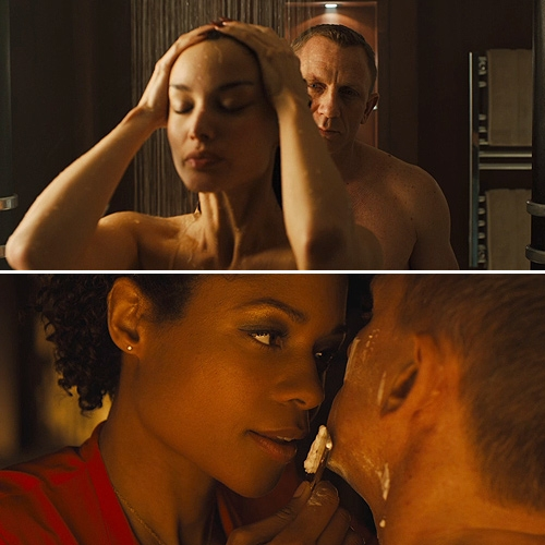 James bond hot sex scenes
