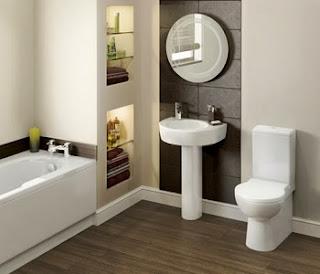 pequeño baño funcional