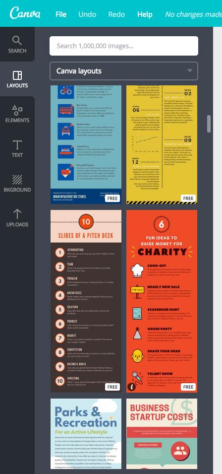 Theme thiết kế trên infographics
