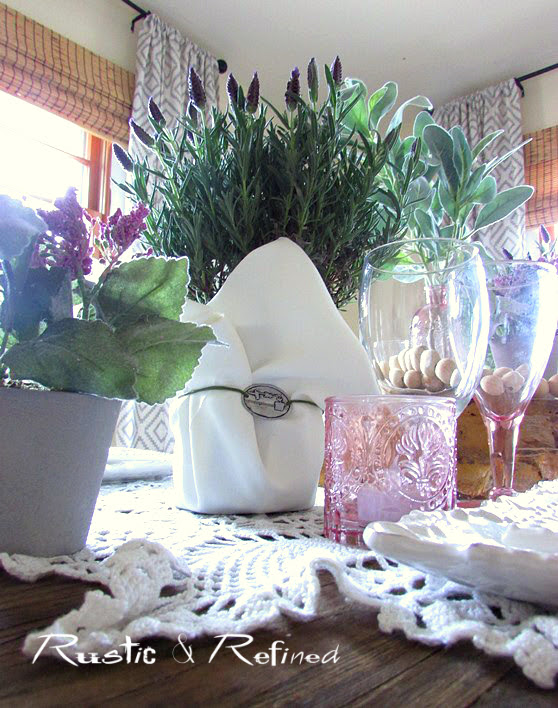 The art of setting a romantic table