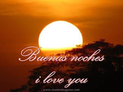 Imágenes para desear buenas noches a mi amor