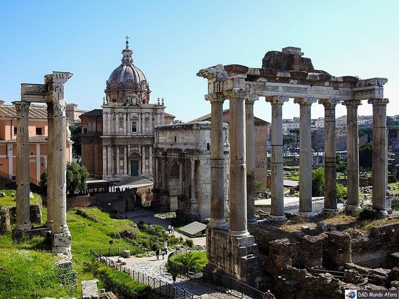 Fórum Romano - O que fazer em Roma, Itália