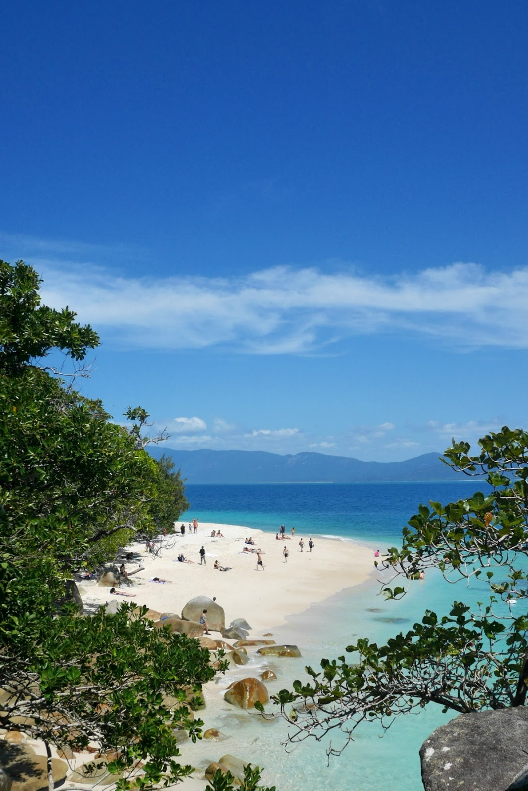Nudey Beach Fitzroy Island Queensland Australia