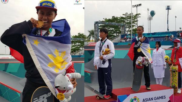 Daughter of kwek-kwek vendor Margielyn Didal wins PH's 4th gold
