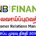 Vacancy In HNB Finance