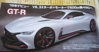 日産 GTR 2019年頃にフルモデルチェンジを予定?