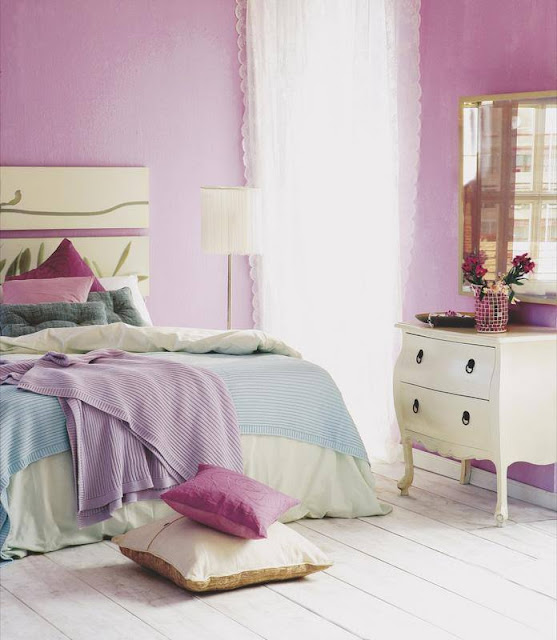 Cele mai frumoase interioare amenajate în violet [ I ]