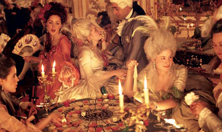 Marie Antoinette S 18th Birthday Party Was Depicted In The