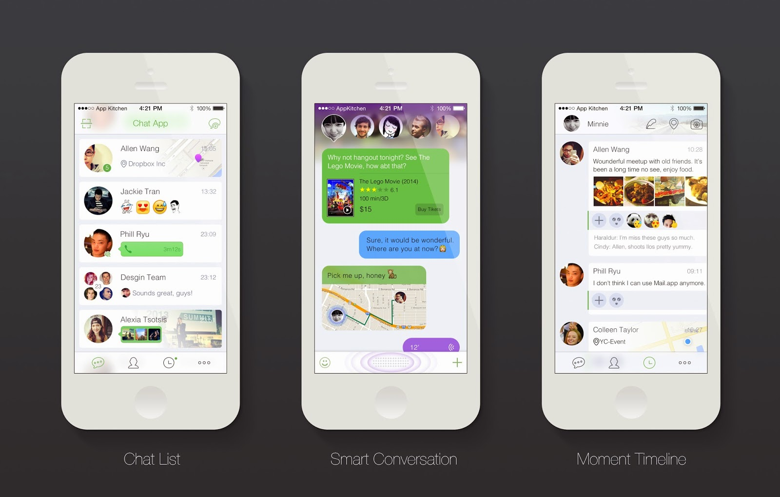 Smart Chat App Ui