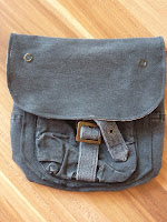 custom made geocaching belt bag recycled cargo pants | http://panpancrafts.blogspot.de/