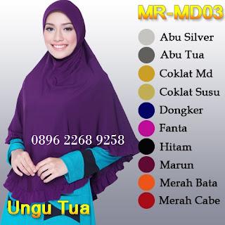 Koleksi terbaru jilbab Munira MD-03 Trendi harga murah berkwalitas