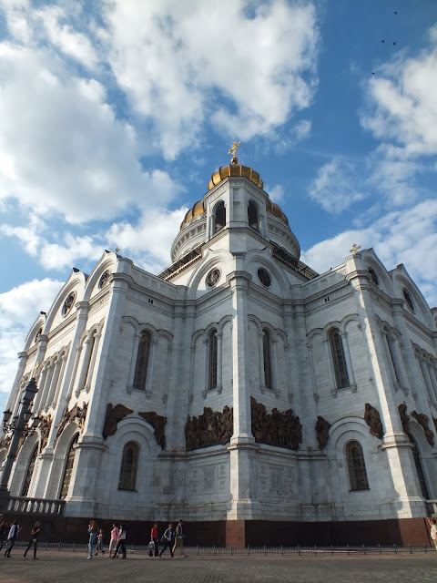 La bonita catedral del Cristo Salvador