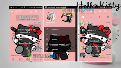 BBM Mod Hello Kitty Versi v2.13.1.14 Apk Full DP