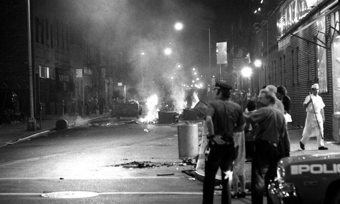 Disturbios de los trabajadores públicos en 1975.